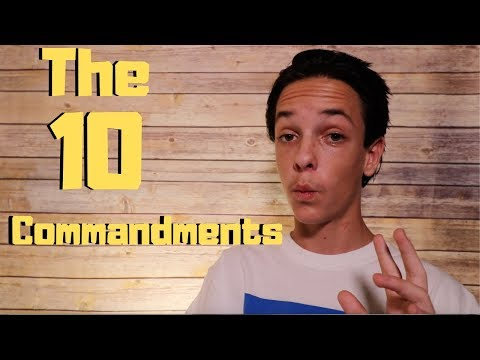 What do the 10 Commandments REALLY Command?