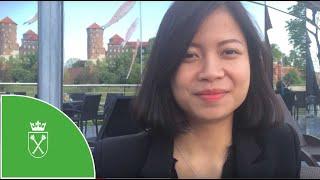 Thanh Huong Duong - studentka V roku ekonomii UJ