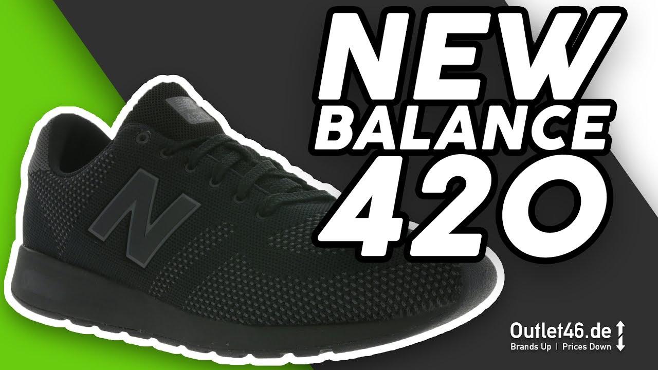 sports shoes 17899 f3890 New Balance MLR420TB Schwarz - Der Daily Schuh   DEUTSCH l Review l On Feet  l Overview l Outlet46.de