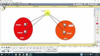 تطبيق عملي VLAN  - Trunk - VLAN Routing