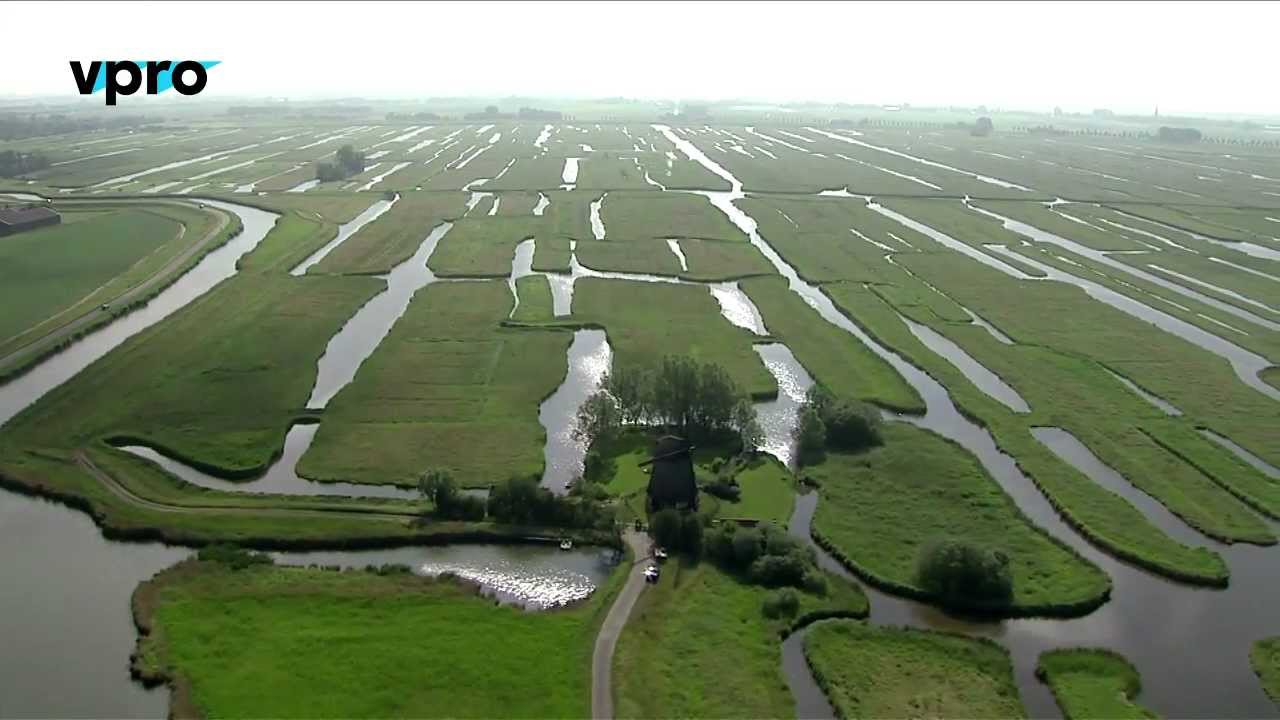 The Polder Unique Landscape Under Sea Level Youtube