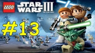 Lego Star Wars 3 The Clone Wars Walkthrough - Count Dooku Chapter 6 Legacy Of Terror