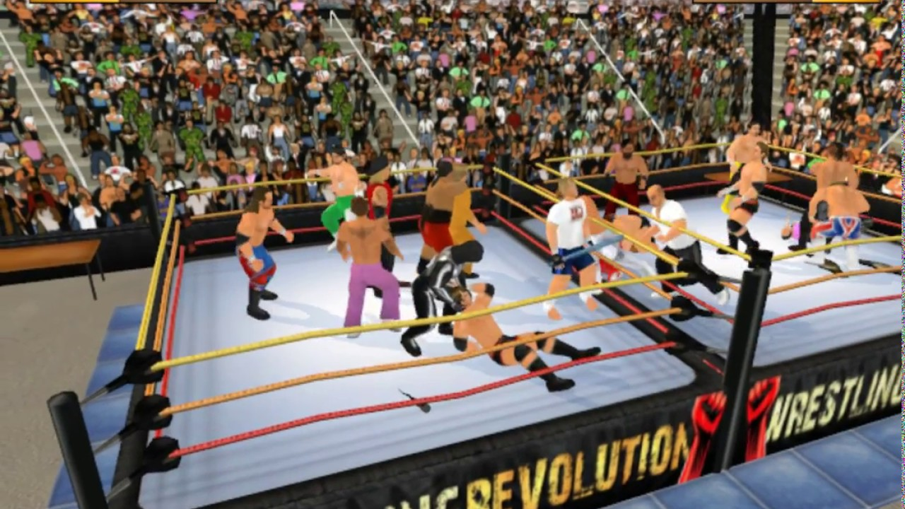 Wrestling Revolution 3D - Download Free | GamesCrack org