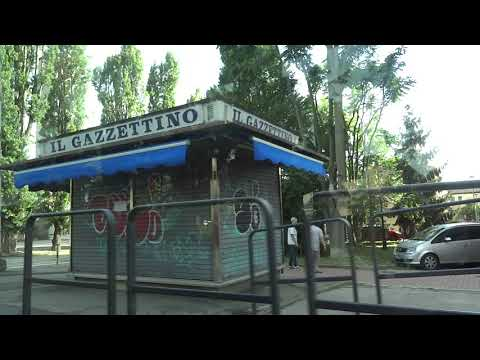 Tram journey from Mestre Centro to Venice