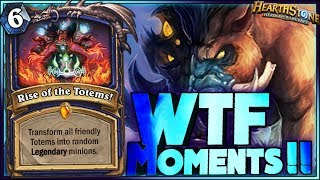Hearthstone WTF Moments - Daily Funny Rng Plays