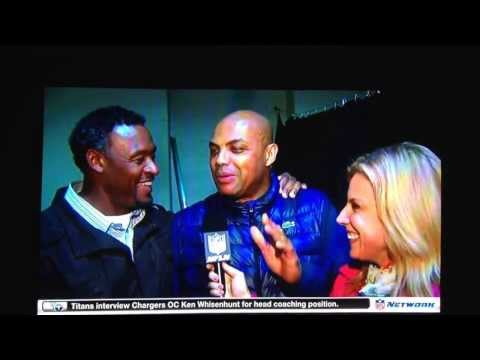 Charles Barkley tells Willie McGinest that he can