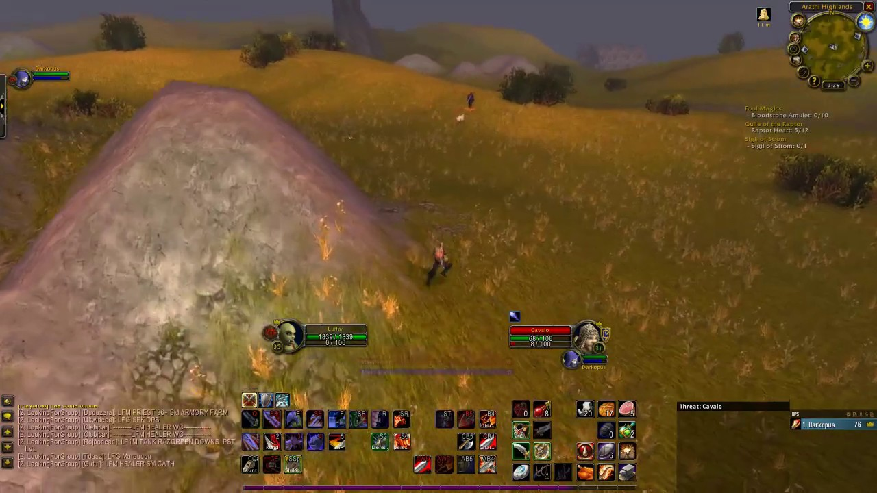 Classic WoW Warrior noob Up pvp