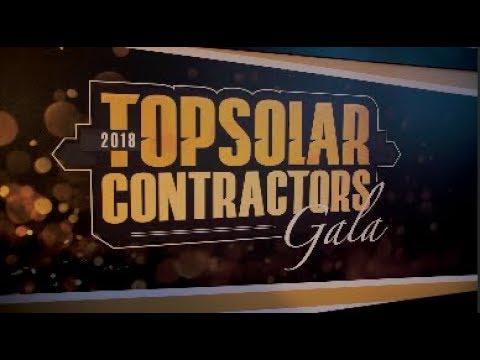 2018 Top Solar Contractors Gala