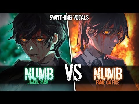 ◤Nightcore◢ ↬ Numb [Switching Vocals]