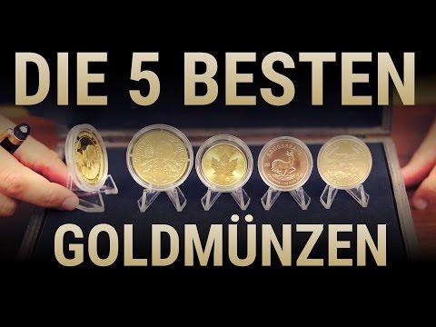 Die 5 besten Goldmünzen 🏆 der Welt