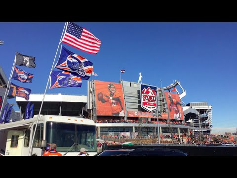 Mile High Tailgate Broncos vs  Steelers 2016