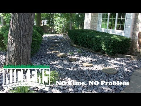 Mulch To Rock, Creating Low Maintenance Landscapes