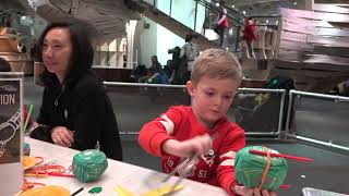 Hall of science at Queen's with Garik