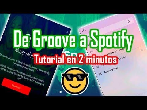 A LLEGADO LA HORA: Migra tu música de Groove Music a Spotify en menos de 2 minutos