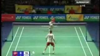 バドミントン badminton best of volume 3 peter gade vs taufik hidayat all england 2009
