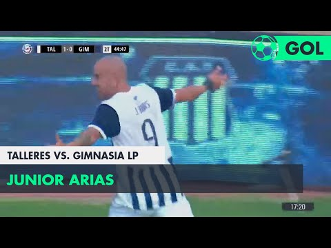 Junior Arias (2-0) Talleres vs Gimnasia LP | Fecha 24 - Superliga Argentina 2017/2018