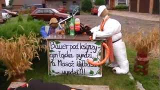 Dożynki w gminie Radłów - WICHRÓW 2012r. - wystrój WSI
