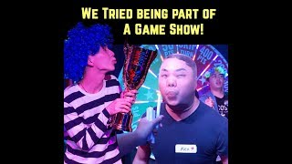 DO YOU DARE: Manila's First Live Game Show Room Experience!