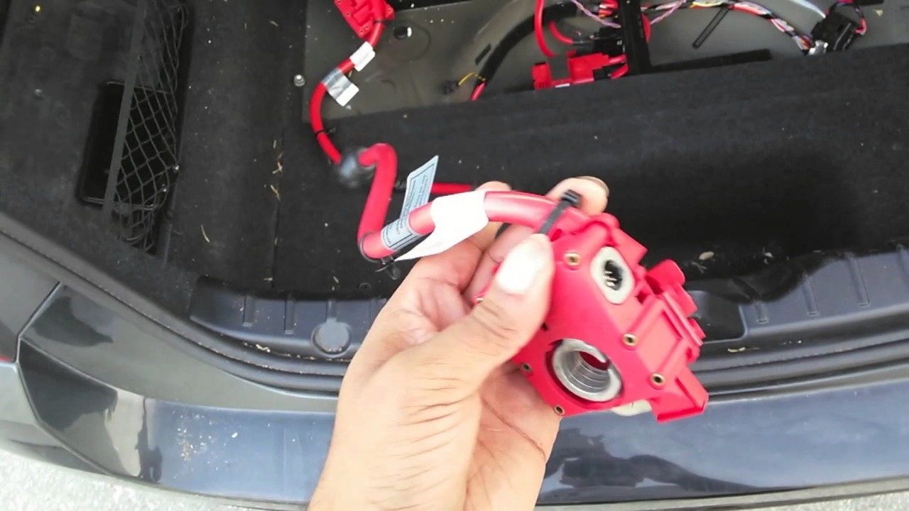 BMW F01 F10 F11 wont start after accident [Easy Fix] [Part2]