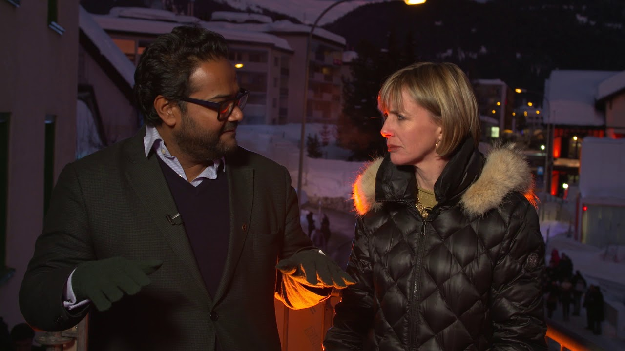 Hub Culture Davos 2018 - Ambarish Mitra, CEO and Founder of Blippar