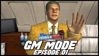 SvR 2008 | GM Mode - 'THE DRAFT & FIRST SHOWS!' | #01