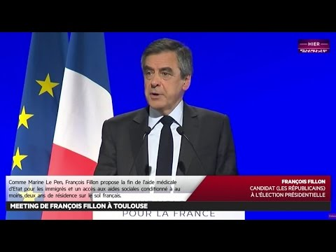 REPLAY. Meeting de François Fillon à Toulouse - Les matins d