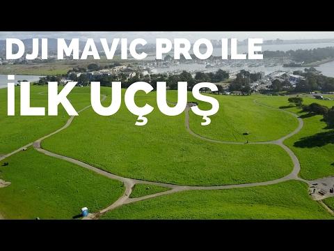Berkeley'de DJI Mavic Pro Drone İle İlk Uçuş