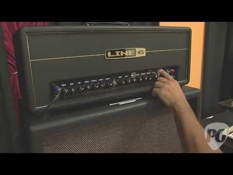 Line 6 DT50 Amp Head Demo