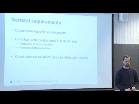 Introduction to Parallel/GPU computing using MATLAB