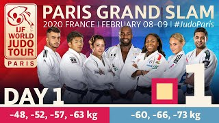 Judo Paris Grand Slam 2020 - Day 1: Tatami 1