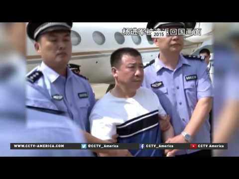 China's most wanted fugitive returned