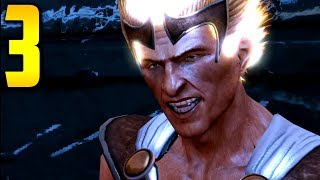 "God of War 3 - Part 3 ""THE FLAME OF OLYMPUS"" (Gameplay/Walkthrough)"