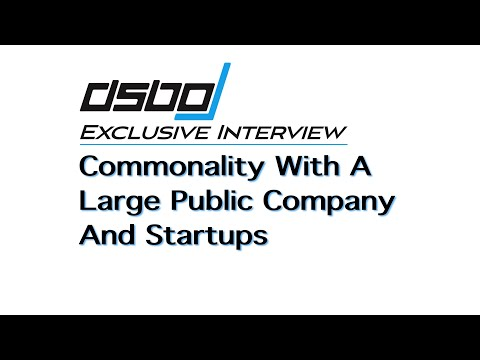 Commonality With A Large Public Company And Startups