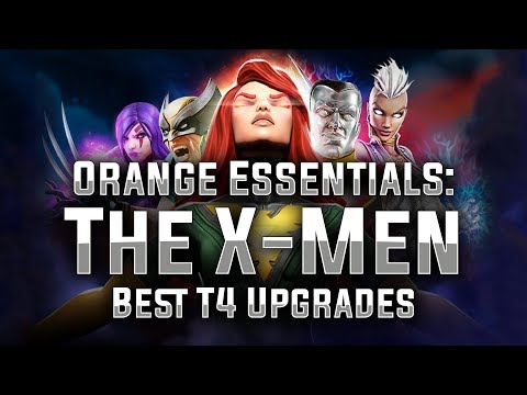 Orange Essentials: Ep. 01 - The X-Men - MARVEL Strike Force