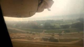 Berjaya Air Dash 7 Seletar-Tioman  (XSP-TOD) on a Hazy Day!