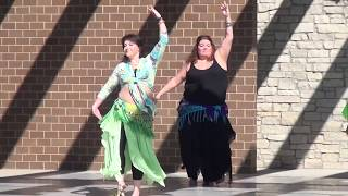 Wood Dale Belly Dance performance  |  Schaumburg fest 2016