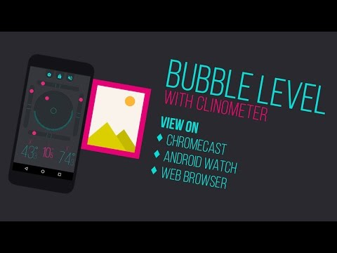 Bubble Level With Clinometer - Android App