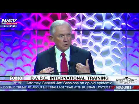 INSPIRATIONAL SPEECH: Attorney General Jeff Sessions On Opioid Epidemic (FNN)