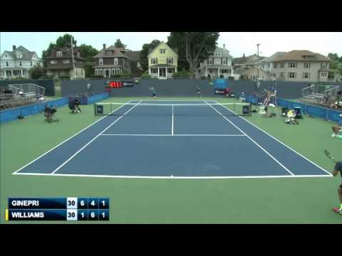 Rhyne Williams v Robby Ginepri (Binghamton Challenger)
