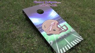 How to play cornhole rules and scoring by Victory Tailgate