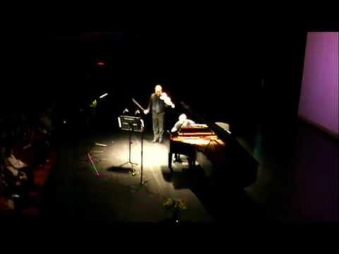 50-lecie - Kevin Kenner - piano, Paweł Wójtowicz - violin (Mozart, Brahms, Franck - fragment)
