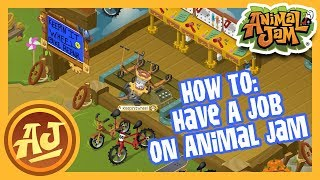 How To Have A Job On Animal Jam! |  Animal Jam - How To Video
