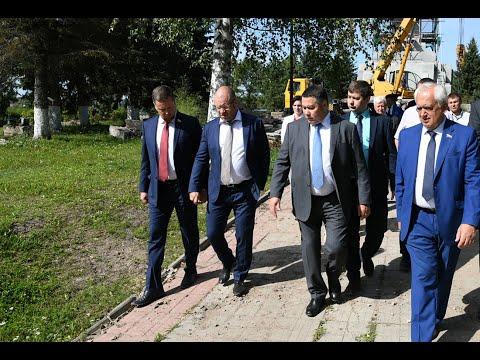 Игорь Руденя посетил Ржев с рабочей поездкой