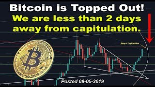 Bitcoin is topped out! BTC Capitulation is less than 2 days away, be ready for the drop & crash!