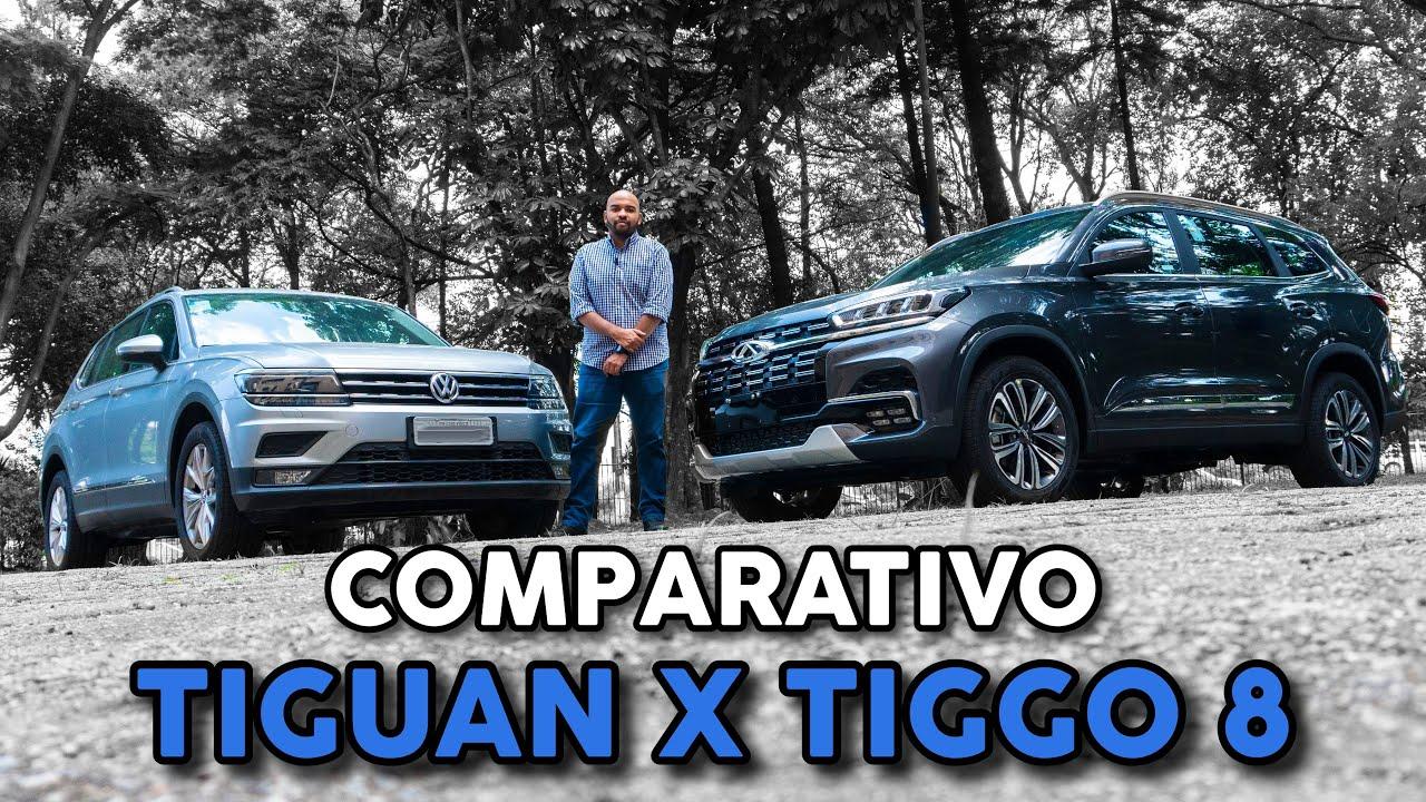 COMPARATIVO: CAOA CHERY TIGGO 8 X VW TIGUAN