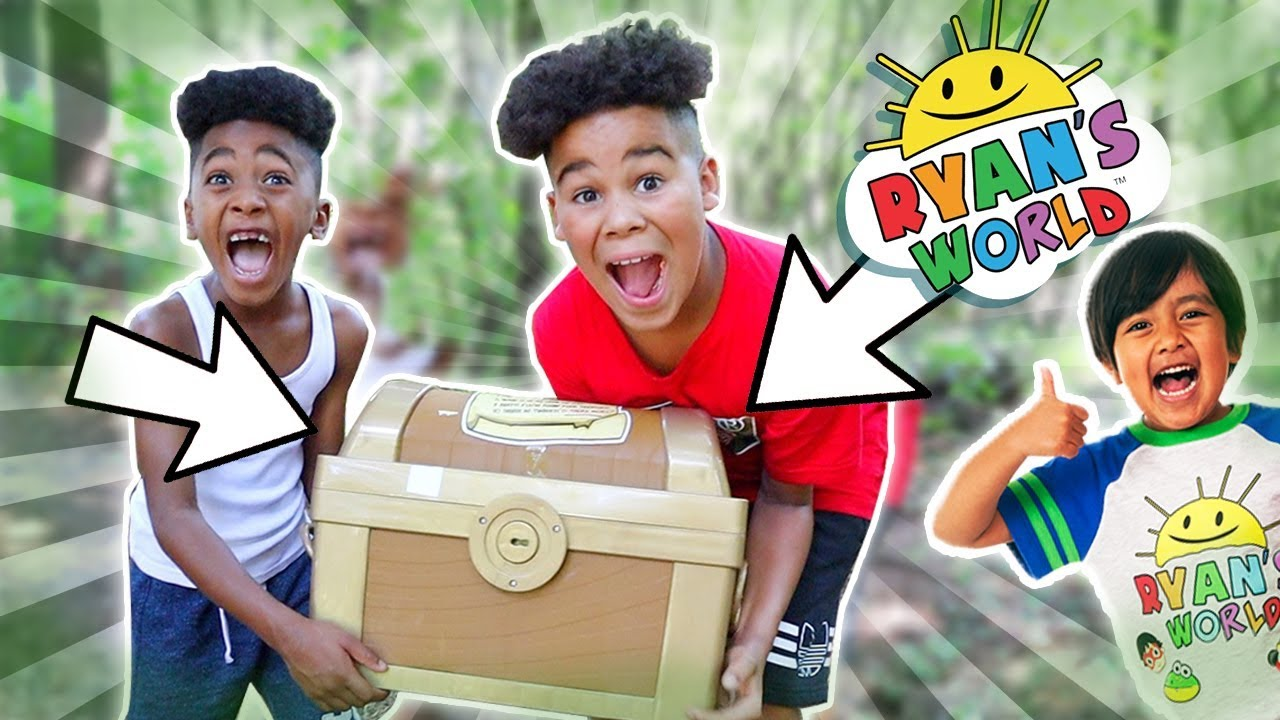 Ryans World Magical Treasure Hunt | FamousTubeKIDS