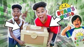 Ryan's World Magical Treasure Hunt | FamousTubeKIDS
