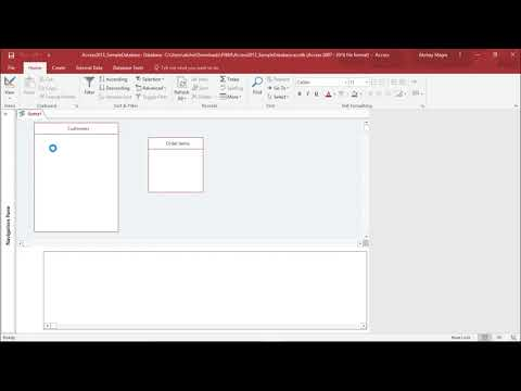 MS Access 2016 - Join Data From Different Tables In Query