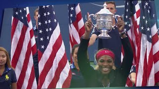 50 Moments That Mattered: Serena Williams Wins Sixth US Open Tennis Title