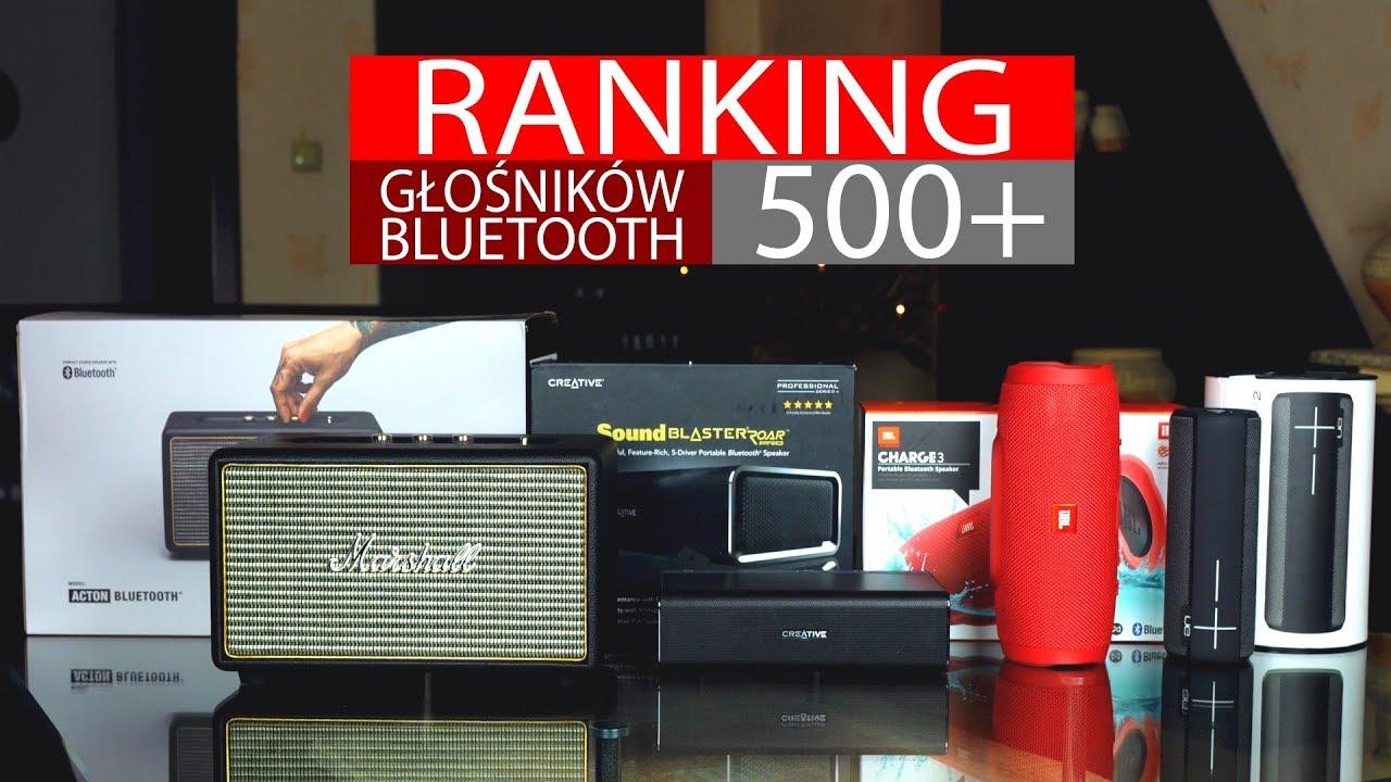 Głośniki Bluetooth za ponad 500 zł – Ranking!